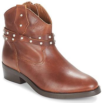 鞋子 女士 短筒靴 André ARABELLA 棕色