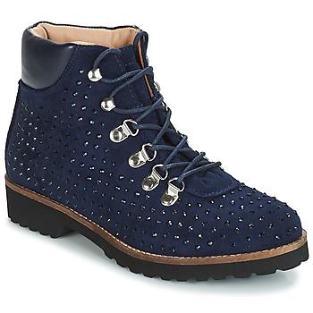 鞋子 女士 短筒靴 André CALCEDOINE 藍色