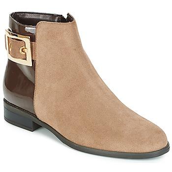 鞋子 女士 短筒靴 André ELFIE 米色
