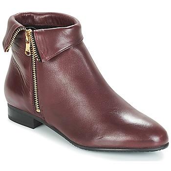 鞋子 女士 短筒靴 André PIMENTO 波尔多红