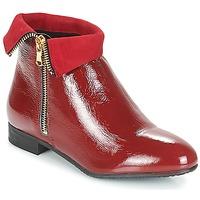 鞋子 女士 短筒靴 André PIMENTO 红色