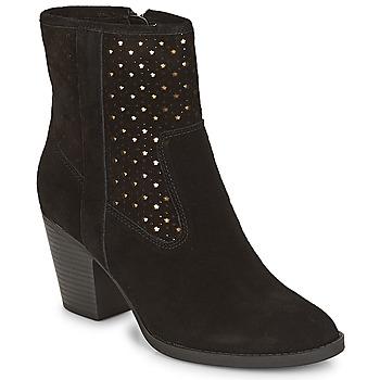 鞋子 女士 短靴 André DELIA 黑色