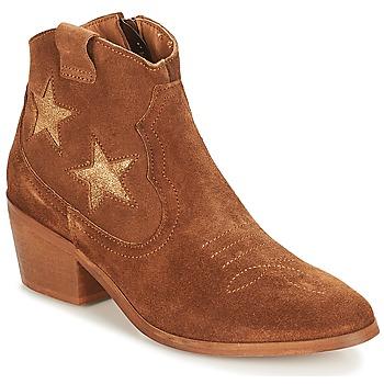 鞋子 女士 短筒靴 André CELESTE 驼色