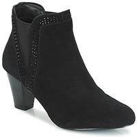 鞋子 女士 短筒靴 André BRITANIE 黑色