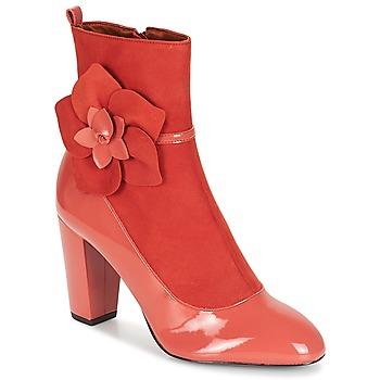 鞋子 女士 短靴 André MAGDALENA 玫瑰色
