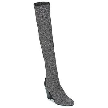 鞋子 女士 绑腿 André CATWALK 银色