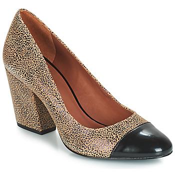 鞋子 女士 高跟鞋 André FAUVE 米色