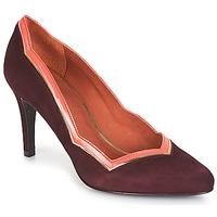 鞋子 女士 高跟鞋 André PIERA 波爾多紅