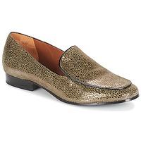 鞋子 女士 皮便鞋 André BOLINIA 金色
