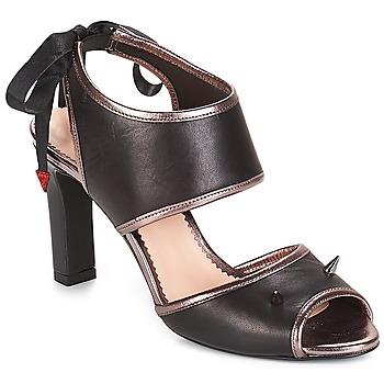 鞋子 女士 涼鞋 André NEVERLAND 黑色