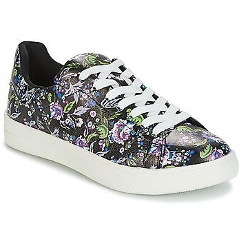 鞋子 女士 球鞋基本款 André FLOWER 黑色