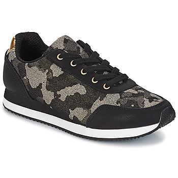 鞋子 女士 球鞋基本款 André KIM 黑色