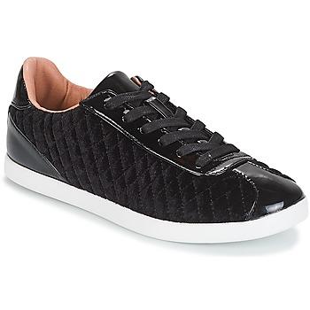鞋子 女士 球鞋基本款 André VELVET 黑色