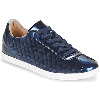 鞋子 女士 球鞋基本款 André VELVET 蓝色