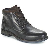 鞋子 男士 短筒靴 André PRAO 黑色