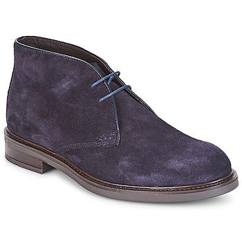 鞋子 男士 短筒靴 André BOHEME 海蓝色