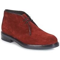 鞋子 男士 短筒靴 André BOHEME 波尔多红