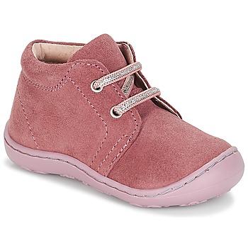鞋子 女孩 短筒靴 André PALE 玫瑰色
