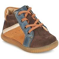 鞋子 男孩 短筒靴 André W 棕色