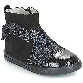 鞋子 女孩 短筒靴 André NUIT 黑色
