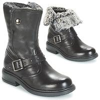 鞋子 女孩 短筒靴 André GIBOULEE 黑色