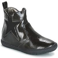 鞋子 女孩 短筒靴 André FURY 黑色