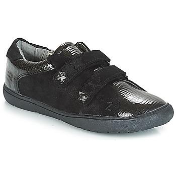 鞋子 女孩 球鞋基本款 André HALEY 黑色