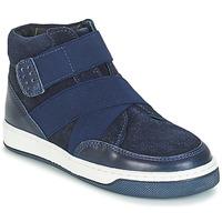 鞋子 男孩 短筒靴 André CUBE 海蓝色