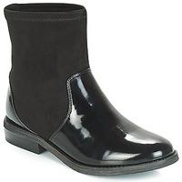 鞋子 女孩 短筒靴 André VALENTINA 黑色