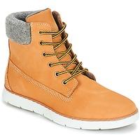 鞋子 男孩 短筒靴 André TROTTEUR 棕色 / 黄色