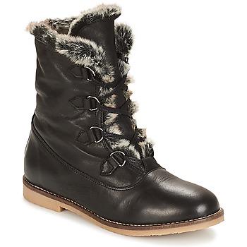 鞋子 女士 短筒靴 André CHAMONIX 黑色