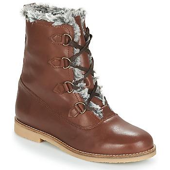鞋子 女士 短筒靴 André CHAMONIX 棕色