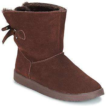 鞋子 女士 短筒靴 André TOUDOU 棕色