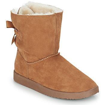 鞋子 女士 短筒靴 André TOUDOU 米色