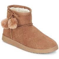 鞋子 女士 短筒靴 André TOUCHOU 棕色
