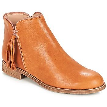 鞋子 女士 短筒靴 André PAOLINE 棕色