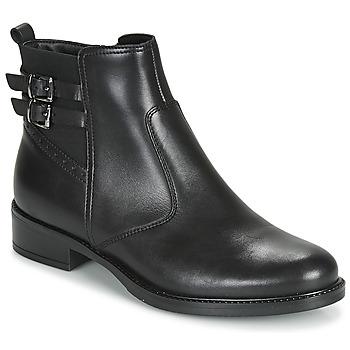 鞋子 女士 短筒靴 André CARLIN 黑色