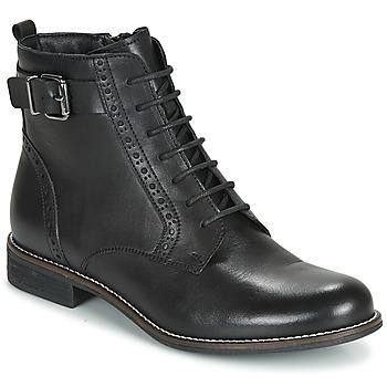 鞋子 女士 短筒靴 André CHEPTELA 黑色