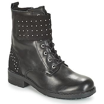 鞋子 女士 短筒靴 André TAMAR 黑色