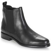 鞋子 女士 短筒靴 André CARAMEL 黑色