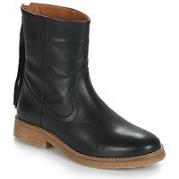 鞋子 女士 短筒靴 André THEO 黑色