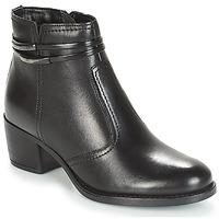 鞋子 女士 短筒靴 André CALOTINE 黑色