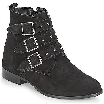 鞋子 女士 短筒靴 André TIRA 黑色