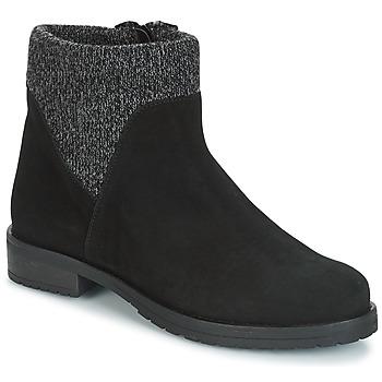 鞋子 女士 短筒靴 André TRIAL 黑色