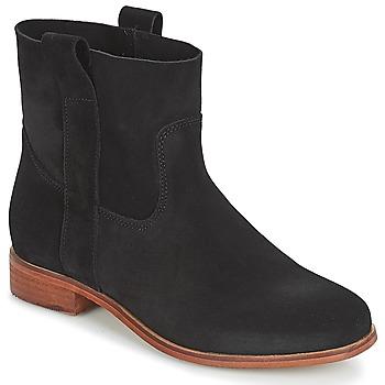 鞋子 女士 短筒靴 André TITAINE 黑色