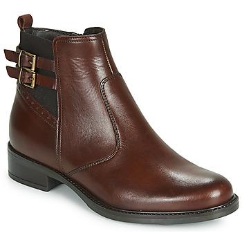 鞋子 女士 短筒靴 André CARLIN 棕色