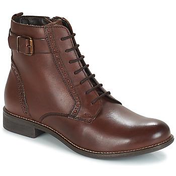 鞋子 女士 短筒靴 André CHEPTELA 棕色