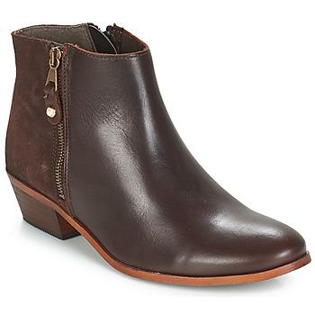 鞋子 女士 短筒靴 André THAIS 棕色