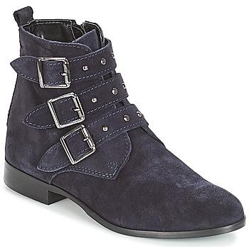 鞋子 女士 短筒靴 André TIRA 海蓝色