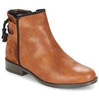 鞋子 女士 短筒靴 André TITOL 棕色